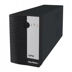 Zasilacz awaryjny UPS 1200VA / 720W QOLTEC