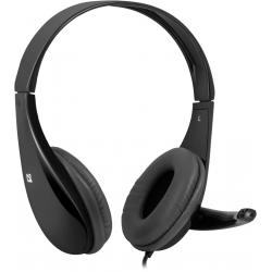 Słuchawki z mikrofonem DEFENDER AURA 111 CZARNE 4-PIN 63111