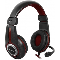 Słuchawki z mikrofonem DEFENDER Czarny 64106