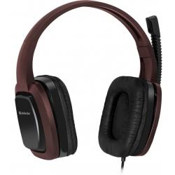 Słuchawki z mikrofonem DEFENDER WARHEAD G-250 BRĄZOWE 64120