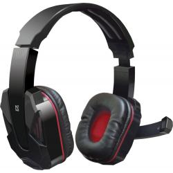 Słuchawki z mikrofonem DEFENDER WARHEAD G-260 CZERWONO-CZARNE 64121