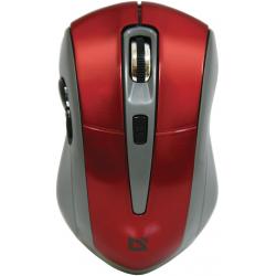 Mysz DEFENDER Accura MM-965 Czerwony 52966